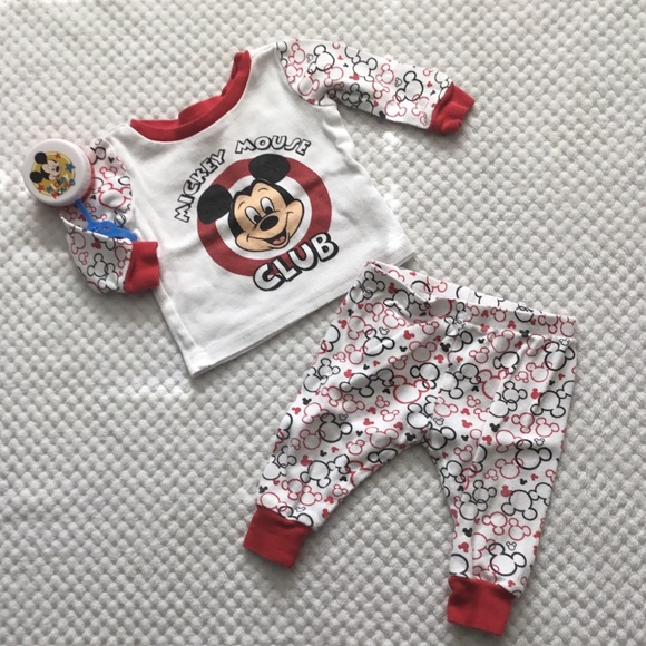 Disney Other - DISNEY BABY MICKEY MOUSE CLUB SET 6/9 month